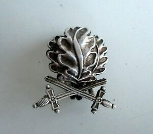 German Silver Badge Iron Cross Knight Cross with sword WW2 Marked