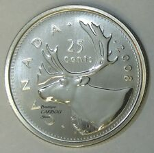 2008 Canada Specimen 25 Cents