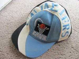 90s Cleveland Cavaliers Cavs snapback hat Twins logo wraparound swirl NBA
