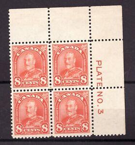 #172 - Canada - 1930 - Plate 3 UR Flat  -  MNH/MH -  VF  - superfleas - 70+