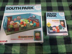South Park CLASSROOM & Bus Stop SETS McFarlane Building Construction 259 Pieces