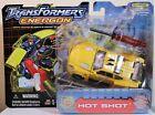 Transformers Energon HOT SHOT Deluxe/Combat Class - Sealed (2004 Hasbro)