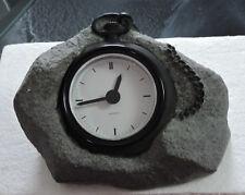 "Vintage ""Pocket Watch Clock Design� In Gray Resin By Takato Japan As050 K"