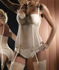 New Gracya Wenecja Cream Basque & Briefs Set UK 32B & Small G04 & G05