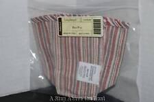 Longaberger Market Stripe Liner for Pen Pal, '02 HOH, '92 Father's Day, SS Penci
