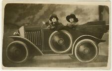 Photo Fête Foraine Foire Luna Park Vers 1930
