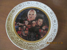 """Star Trek """"The Best Of Both Worlds"""" Plate 1994 The Next Generation The Episodes"""