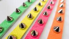 Neon spike bracelet PINK