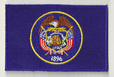 PP-371 Embroidered badge badge patch flag patch UTAH fusible