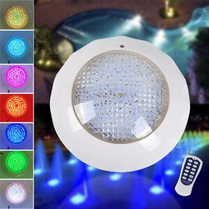 LED RGB Einbau Pool Licht Schwimmbad Spa Pool Unterwasser Scheinwerfer Neu
