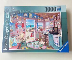 Ravensburger The BEACH HUT Jigsaw Puzzle 1000 Piece **EXCELLENT / COMPLETE**