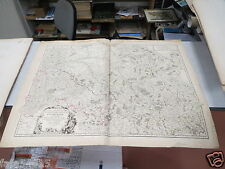CARTE MAP FRANCE CHAMPAGNE BASSIGNY SENONOIS BRIE PERTHOIS VAUGONDY XVIII EME *