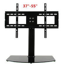 "NEW Universal TV Stand/Base for 37""-55"" LCD/LED/Plasma TVs Tabletop Stand TO"