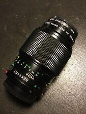 Canon 100mm F/4 Macro FD Breech Lock Telephoto Zoom Mount Lens {52}