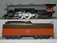 Rivarossi HO scale 5402 Milwaukee Road #6139 Heavy Pacific 4-6-2 w/ RP25 Flanges