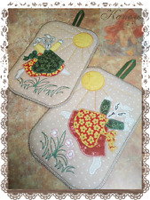 Embroidery designs Digital embroidery Napkin for hot Machine Gift Tilde Cotton