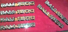 1994-2003 DODGE RAM 1500 OEM FENDER/DOOR EMBLEM NAME PLATES