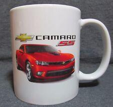 2014 Chevrolet Camaro SS Coffee Cup, Mug - Red Rock Metallic - New - Sharp!