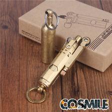 WWI WWII German Vintage Brass/Copper Trench lighter Solid Brass fuel bottle Gift