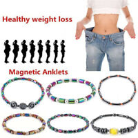 Hematite Stone Weight Loss Anklet Bracelet Healthy Slimming AnkletLad  RAC