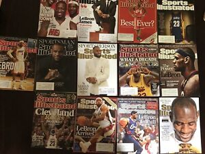 Lebron James Sports Illustrated Covers (13)