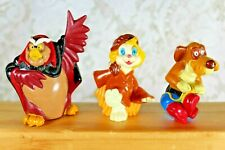 VINTAGE ROCK A DOODLE LOT of 3 Wendy's GRAND DUKE OWL EDMUND PATOU