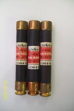 *LOT OF 3* 15A 15 AMP CEFCO CEFCON FUSE 600V , CRS-R 15