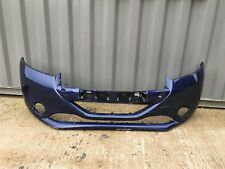 PEUGEOT 208 2012-2015 FRONT BUMPER IN BLUE USED