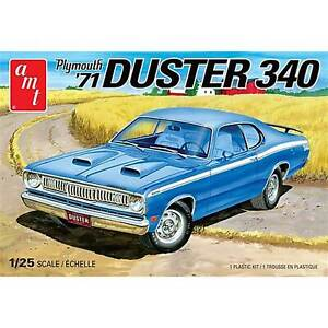 AMT 1/25 1971 Plymouth Duster 340 Model Kit