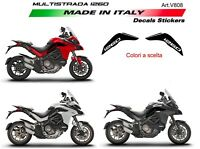 Adesivi per serbatoio Ducati Multistrada 1260 DVT