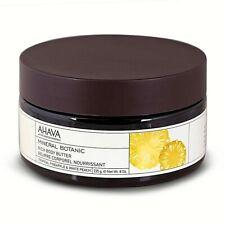 AHAVA Mineral Botanic Tropical Pineapple & White Peach Rich Body Butter, 8 oz