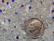 SWAROVSKI CRYSTAL BEADS #5310 4.5mm CRYSTAL AB - 720 PIECES - FACTORY  PACKAGE