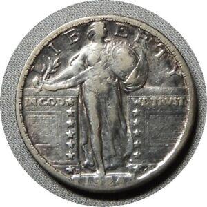 elf Standing Liberty Quarter 1924 S  E32
