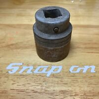 """Vintage Snap On LDH462 1-7/16"""" Shallow Socket 3/4"""" Drive 12 Point 1942 USA"""
