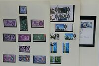 GB QEII 1958/68 good collection of sets and singles on album pages with Stamps