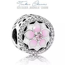 "925er Silber "" Magnolie "" Charm Armband Disney Magnolia kompatibel mit P Charms"