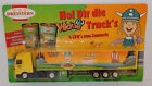 GRELL HO 1/87 CAMION SEMI TRUCK TRAILER MB MERCEDES ACTROS DREISTERN NUDELSAUCE