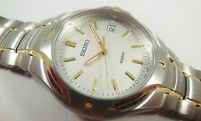 Seiko SGE506 Two-Tone Stainless Steel 7N42-7D58 Sample Watch NON-WORKING