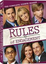 Rules of Engagement: Season 4 [DVD] NEW