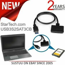 Startech USB 3.0 to 2.5'' SATA III Hard Drive Adapter Cable with UASP│Portable