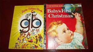 BABY'S FIRST CHRISTMAS #288 SYDNEY Little Golden Book ELOISE WILKIN Esther RARE