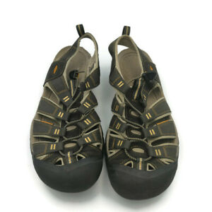 KEEN Men's 13  Newport Eco brown/Black Hiking Trail Walking Sandals Water