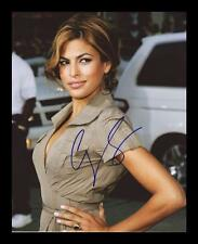 EVA MENDES AUTOGRAPHED SIGNED & FRAMED PP POSTER PHOTO