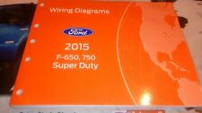 2015 Ford Super Duty Truck F650 F750 All Models Factory Wiring Diagrams Manual