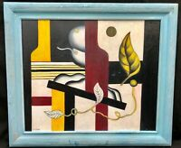 1920s French Russian Surrealist Oil Composition -- Fernand LEGER 1881-1955