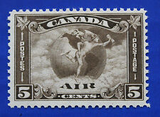 CANADA  (#C02) 1930 Allegory - Air Mail Circles & Globe MNH single
