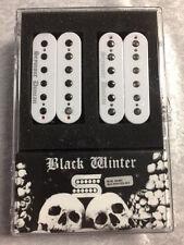 Seymour Duncan Black Winter 6 String Humbucker Guitar Pickup Set In WHITE