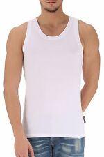 Dolce and Gabbana Men's White Crew Neck Vest Small (34) IT4 N60048