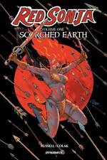 RED SONJA VOL #1 SCORCHED EARTH TPB Dynamite Comics 2019 Collects #1-6 TP