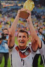 MIROSLAV KLOSE - A3 Poster (ca. 42 x 28 cm) - Fußball Clippings Fan Sammlung NEU